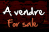 A Vendre-For sale